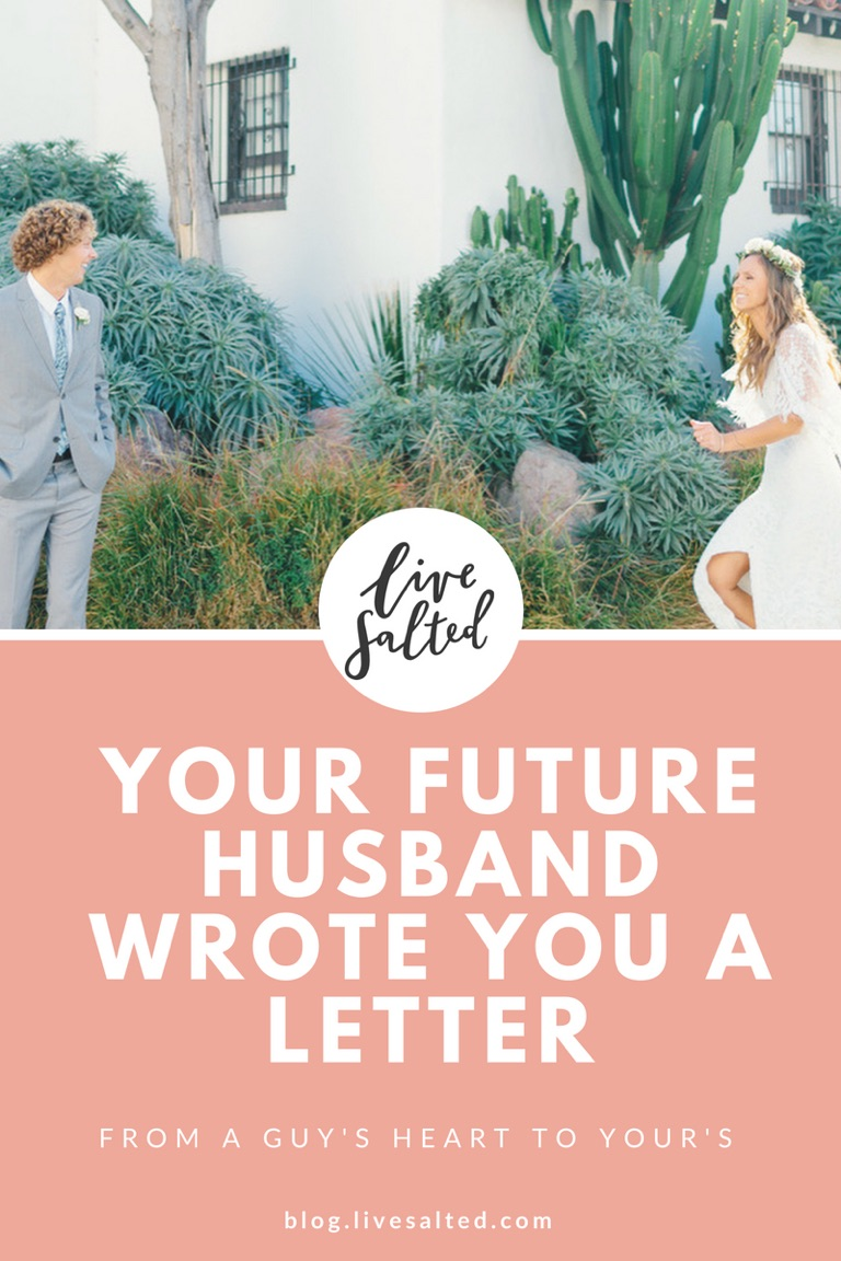 Letters To My Future Husband Pin